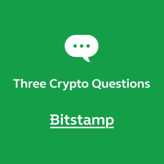 Bitstamp Three Crypto Questions Podcast