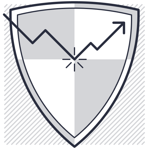 Coin Metrics Risk Management Icon