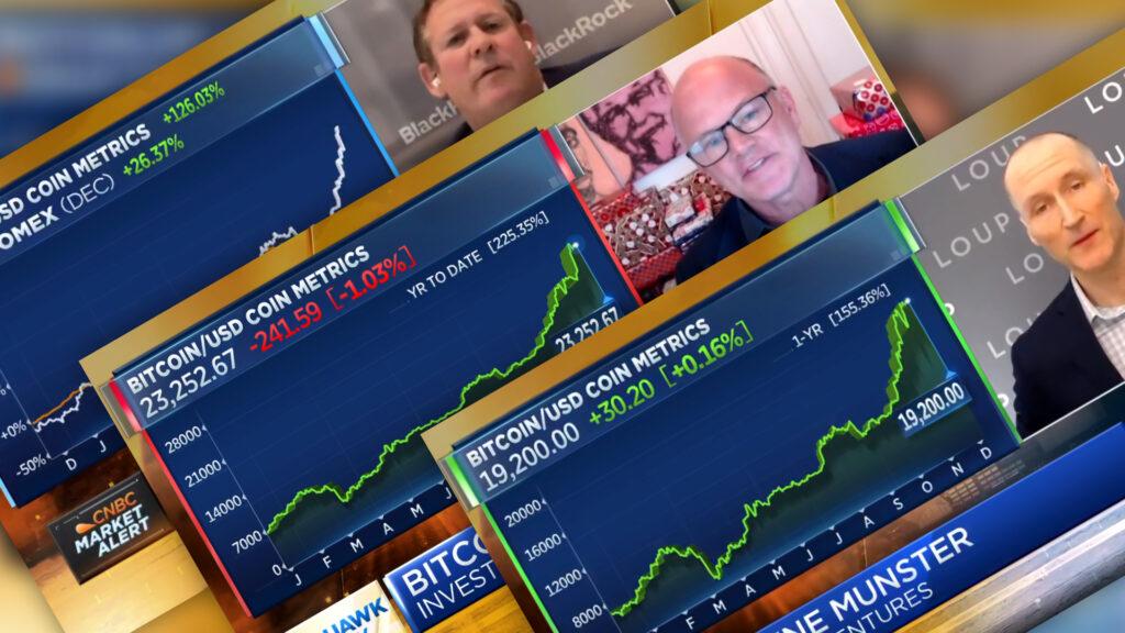 Coin Metrics Media - CNBC