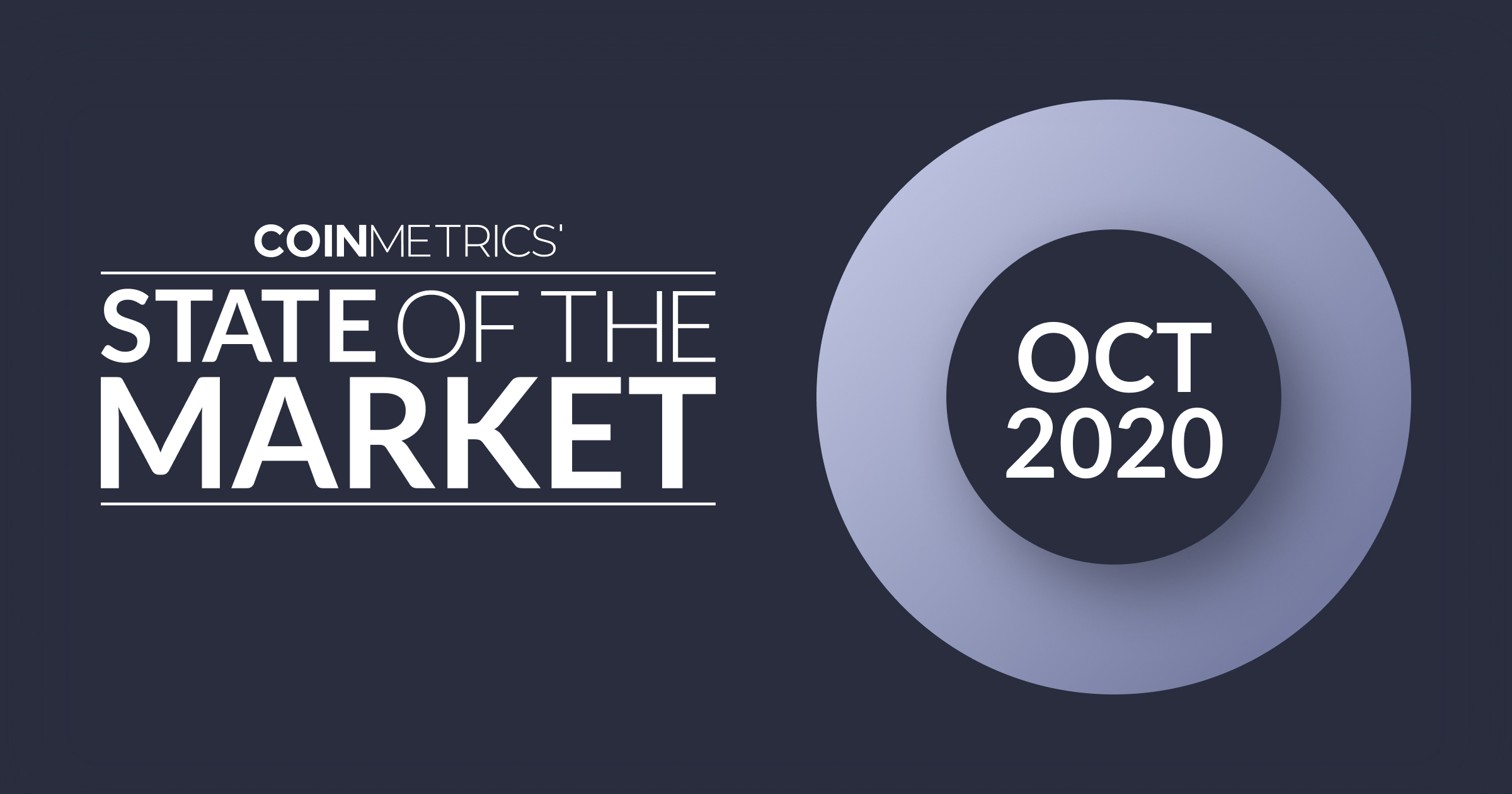 State of the Market - Oct 2020