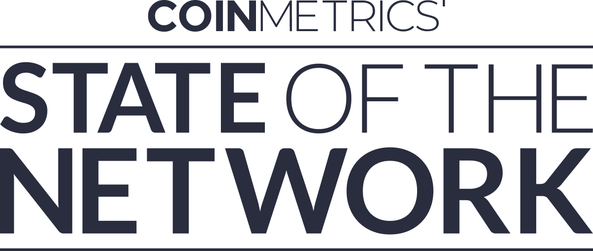 Coin Metrics' State of the Network